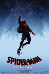 Spider-man Into the Spider Verse Only in the Big Screen Double Sided Original Movie