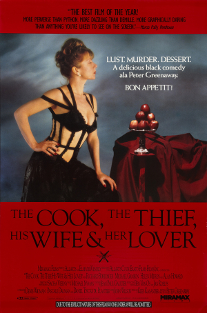 The Cook, the Thief, His Wife, and Her Lover (1990) Movie