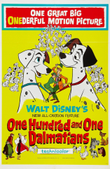 One Hundred and One Dalmatians (1961) Movie