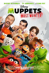 Muppets Most Wanted 2014 Movie Kermit the Frog Miss Piggy
