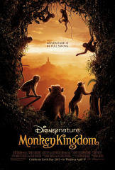 Disney Nature Monkey Kingdom 2015 Movie Earth Day 2015 NEW