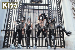 Kiss at the gate