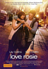 Lily Collins Sam Claflin Love Movie Love Rosie Film