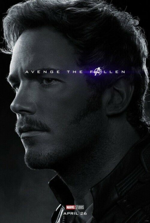 Avengers End Game Star Lord Marvel Movie