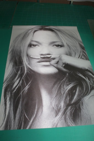 New Hot Super Sexy Model KATE MOSS Life Is A Joke