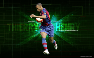 Sports Thierry Henry Soccer Player FC Barcelona